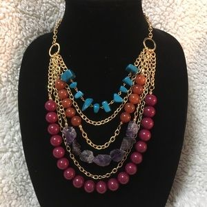 Erica Lyons Fun Creative Bold Statement Necklace